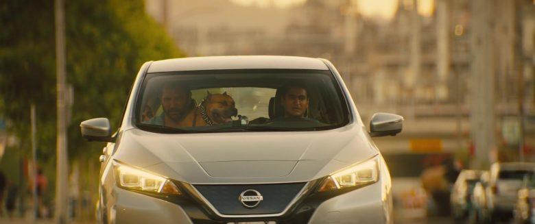 Nissan Leaf Car Used by Kumail Nanjiani & Dave Bautista in Stuber (7)