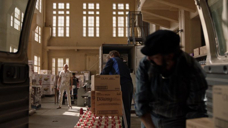 Olay and Downy Boxes in Barry - Season 2, Episode 1, The Show Must Go On, Probably? (2019) - TV Show Product Placement