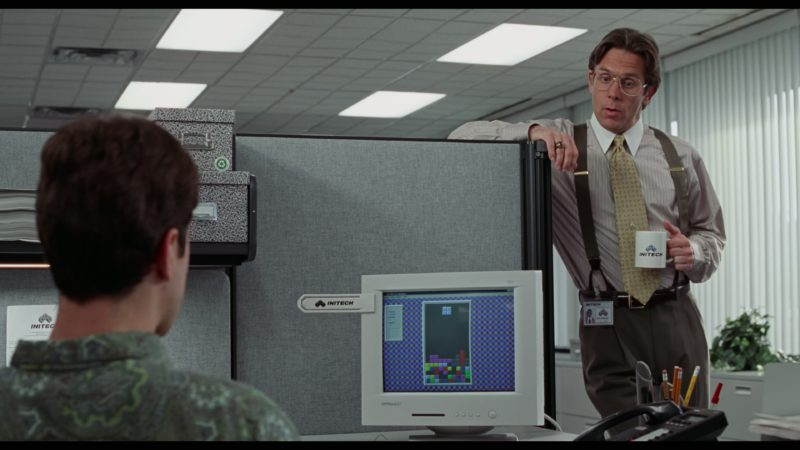 Optiquest Q51 Computer Monitor Used by Ron Livingston in Office Space (1999) - Movie Product Placement