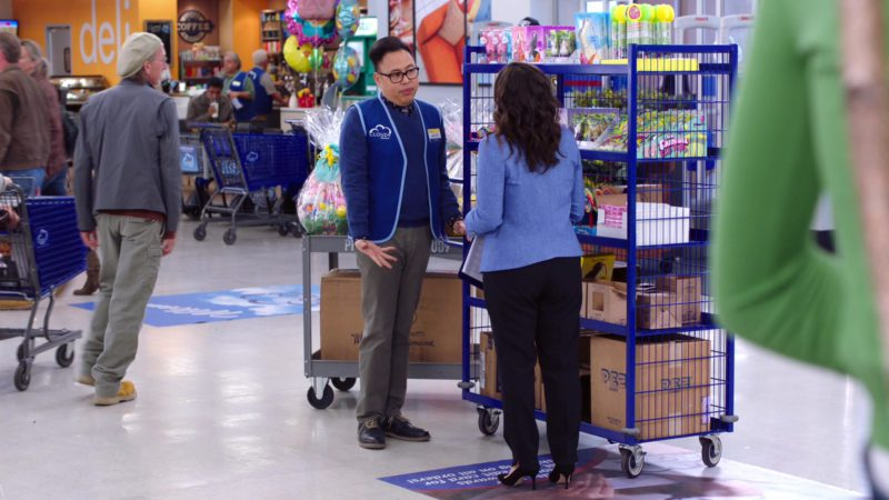 PEZ Candy Box in Superstore – Season 4, Episode 16, Easter (2019) TV Show Product Placement