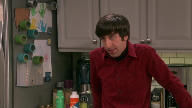 Peet's Coffee in The Big Bang Theory - Season 12, Episode 19, The Inspiration Deprivation (2019) - TV Show Product Placement