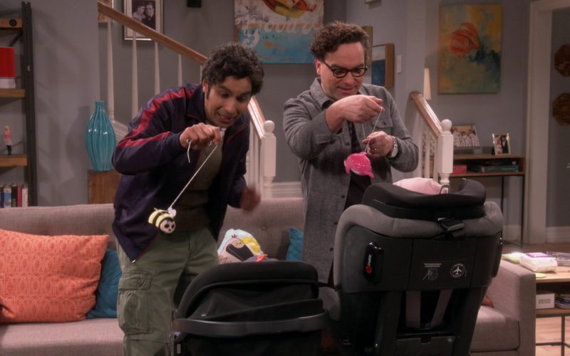 Peg Perego Kinetic Convertible Car Seat in The Big Bang Theory (1)