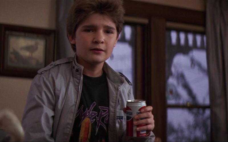 Pepsi Can Held by Corey Feldman in The Goonies
