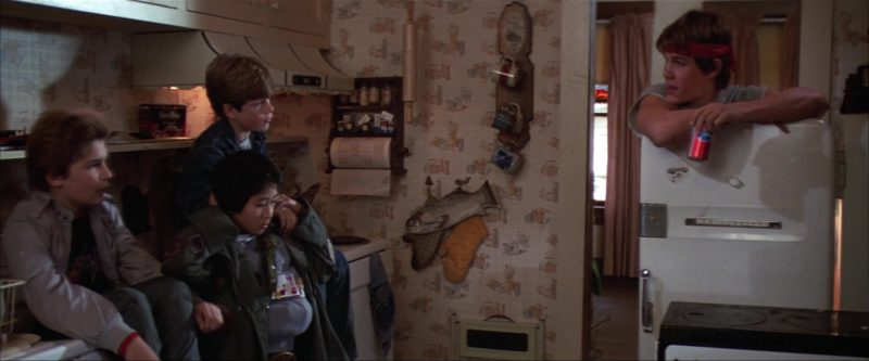 Pepsi Can Held by Josh Brolin in The Goonies (1985) Movie Product Placement