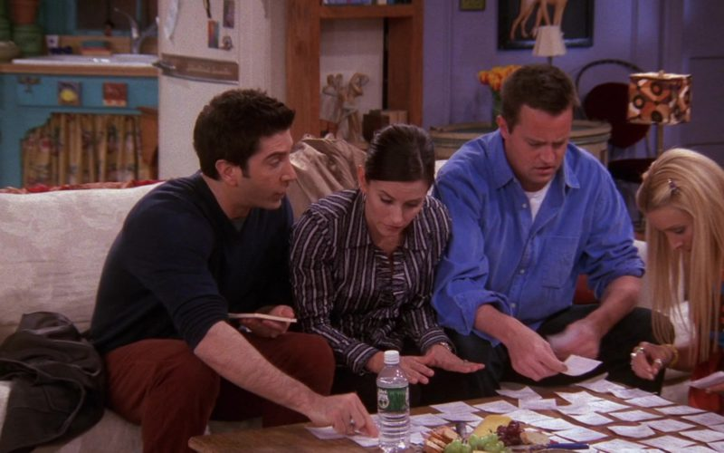 Poland Spring Mineral Water in Friends Season 9 Episode 18 (4)