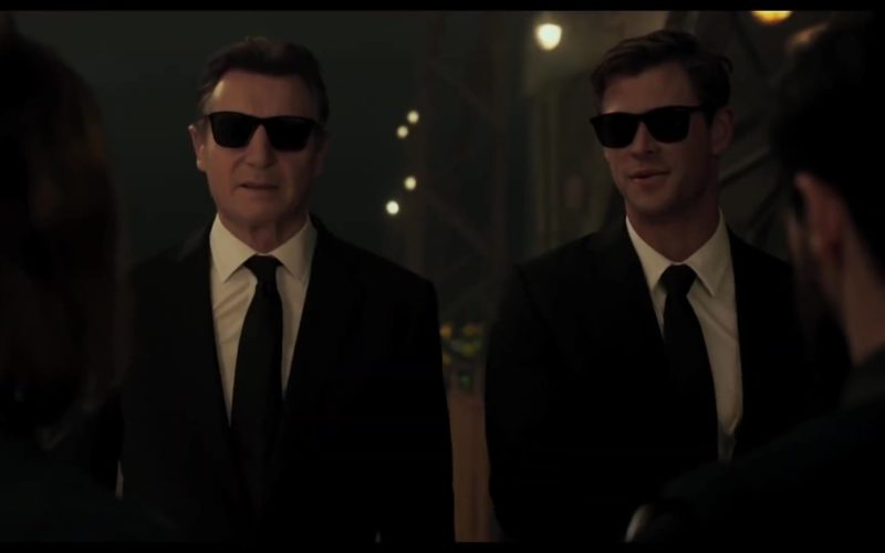 Police Sunglasses Worn by Liam Neeson in Men in Black International