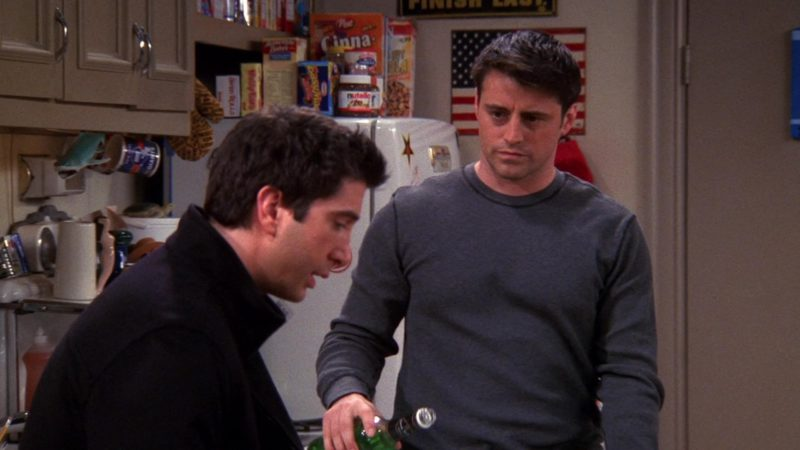 """Post Cinna-Cluster Raisin Bran Cereal and Nutella in Friends Season 8 Episode 16 """"The One Where Joey Tells Rachel"""" (2002) - TV Show Product Placement"""