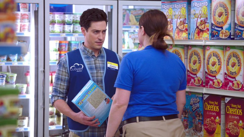 Post Honey Bunches, Post Alpha Bits & Honey Nut Cheerios Breakfast Cereals in Superstore - Season 4, Episode 15, Salary (2019) - TV Show Product Placement