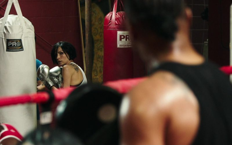 Pro Boxing Punching Bags Used by Famke Janssen in Bayou Caviar (1)