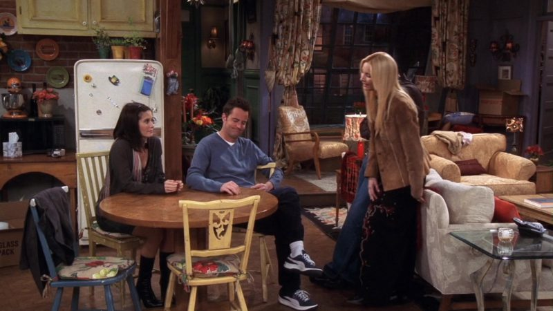 """Puma Shoes Worn by Matthew Perry (Chandler Bing) in Friends Season 10 Episode 16 """"The One With Rachel's Going Away Party"""" (2004) - TV Show Product Placement"""