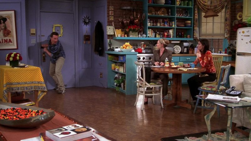 """Puma Shoes Worn by Matthew Perry (Chandler Bing) in Friends Season 10 Episode 7 """"The One With the Home Study"""" (2003) TV Show Product Placement"""
