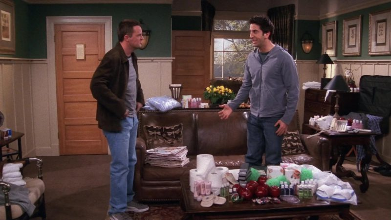 "Puma Shoes Worn by Matthew Perry (Chandler Bing) in Friends Season 9 Episode 19 ""The One With Rachel's Dream"" (2003) TV Show Product Placement"