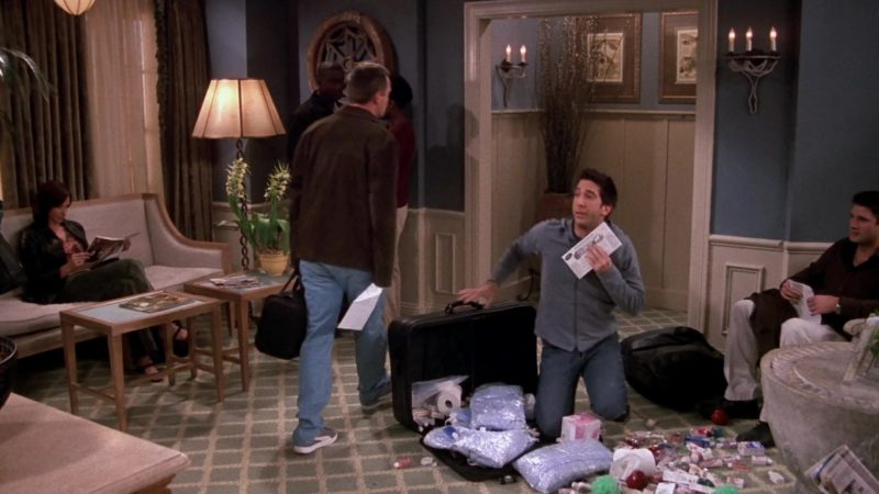 """Puma Shoes Worn by Matthew Perry (Chandler Bing) in Friends Season 9 Episode 19 """"The One With Rachel's Dream"""" (2003) - TV Show Product Placement"""
