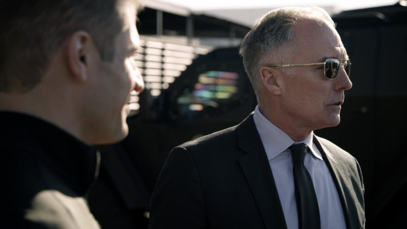 Randolph Engineering Men's Aviator Sunglasses Worn by Male Actor in SWAT - Season 2, Episode 18, Cash Flow (2019) - TV Show Product Placement