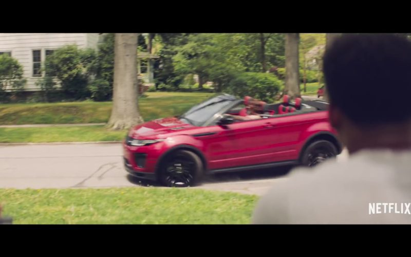 Range Rover Evoque Convertible Red Car in The Last Summer (2)