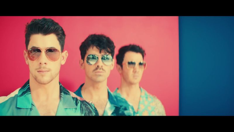 """Ray-Ban Men's Sunglasses Worn by Jonas Brothers in """"Cool"""" (2019) Official Music Video Product Placement"""