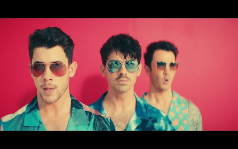 "Ray-Ban Men's Sunglasses Worn by Jonas Brothers in ""Cool"" (7)"