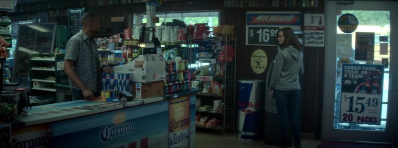 Red Bull, Corona Light, Michelob in Crypto (2019) - Movie Product Placement