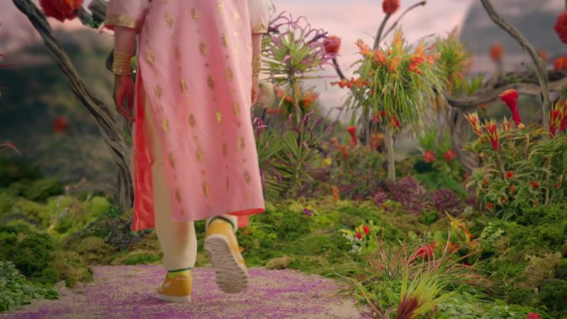 Reebok Yellow Sneakers Worn by Labrinth in No New Friends by LSD (2019) Official Music Video Product Placement