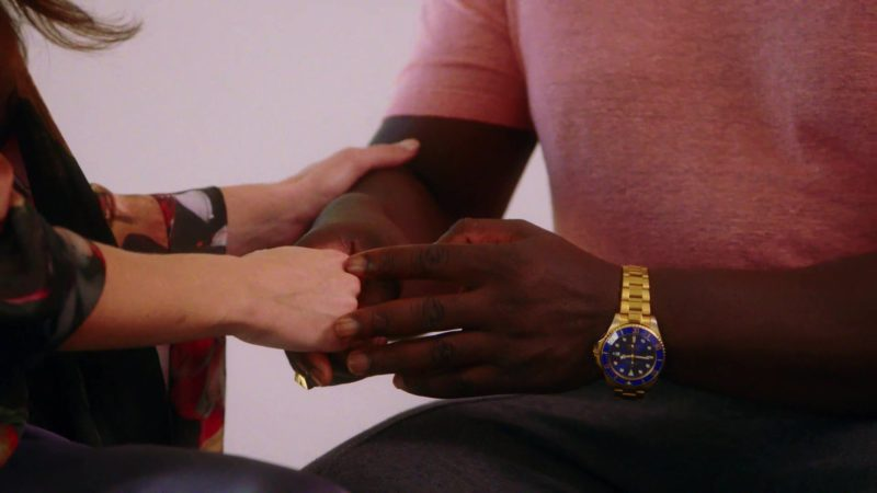 Rolex Watch Worn by Adewale Akinnuoye-Agbaje in The Fix - Season 1, Episode 7, Ghost Whisperer (2019) - TV Show Product Placement