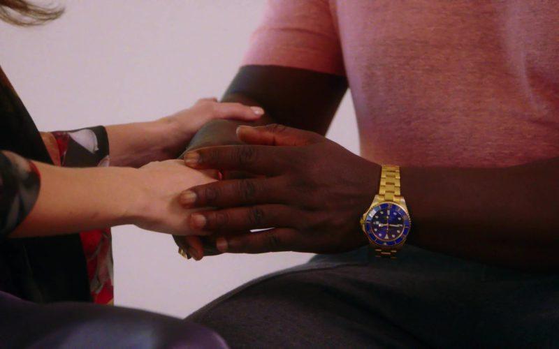 Rolex Watch Worn by Adewale Akinnuoye-Agbaje in The Fix (5)