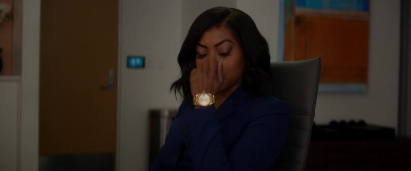 Rolex Women's Gold Wrist Watch Worn by Taraji P. Henson in What Men Want (2019) - Movie Product Placement