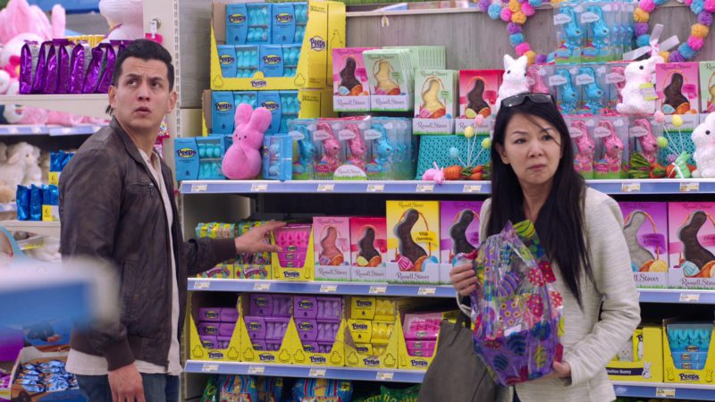 Russell Stover Chocolate Candies and Peeps Marshmallow Candies in Superstore - Season 4, Episode 16, Easter (2019) TV Show Product Placement