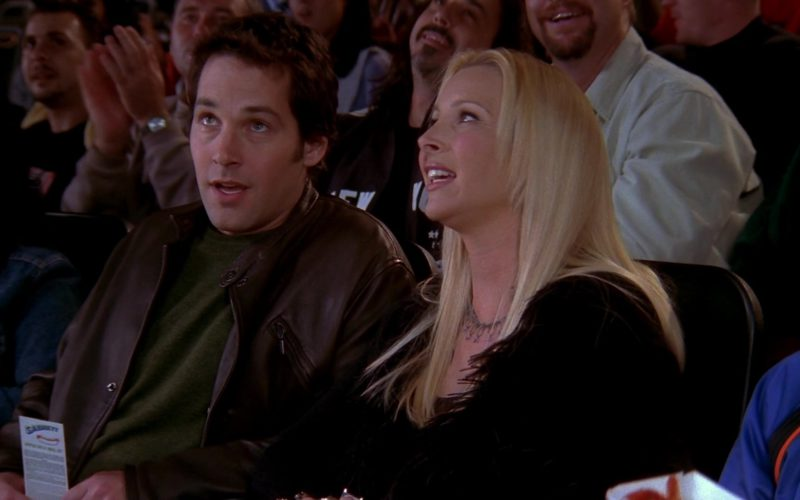 Sabrett Hot Dogs Coupon Held by Paul Rudd (Mike Hannigan) in Friends Season 10 Episode 5 (1)