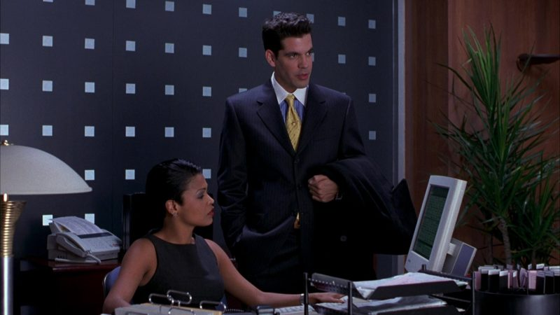 Samsung Computer Monitor Used by Nia Long in Boiler Room (2000) Movie Product Placement