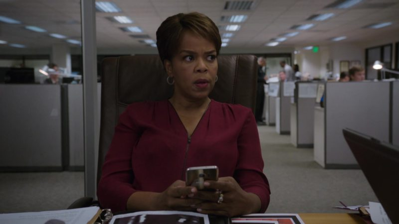 Samsung Galaxy Smartphone Used by Paula Newsome in Barry - Season 1, Episode 7, Chapter Seven: Loud, Fast and Keep Going (2018) - TV Show Product Placement