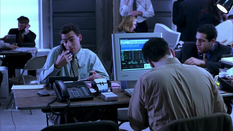 Samsung Monitors in Boiler Room (2000) - Movie Product Placement
