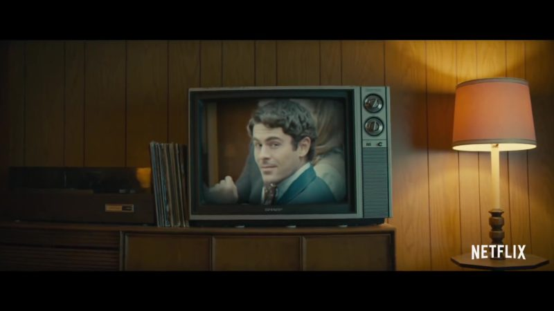 Sharp TV in Extremely Wicked, Shockingly Evil and Vile (2019) - Movie Product Placement