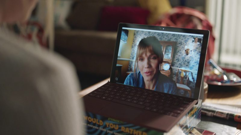 Skype and Microsoft Surface Tablet in Barry - Season 2, Episode 3, Past Equals Present x Future Over Yesterday (2019) - TV Show Product Placement