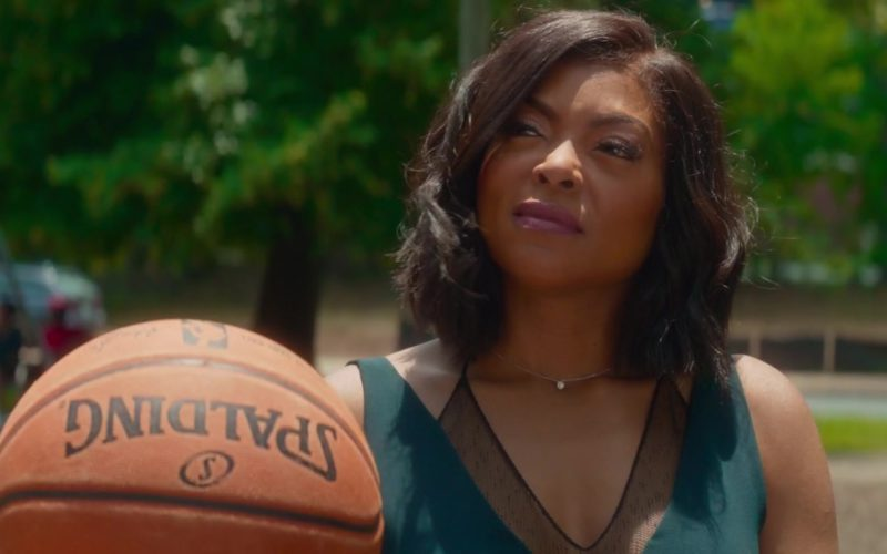Spalding Basketball Held by Taraji P. Henson in What Men Want