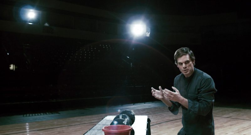 Spalding Black Balls Used by Michael Carlyle Hall in Gamer (2009) - Movie Product Placement