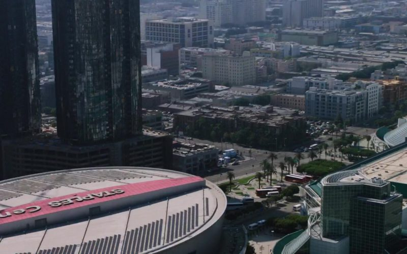 Staples Center Arena in Miss Bala