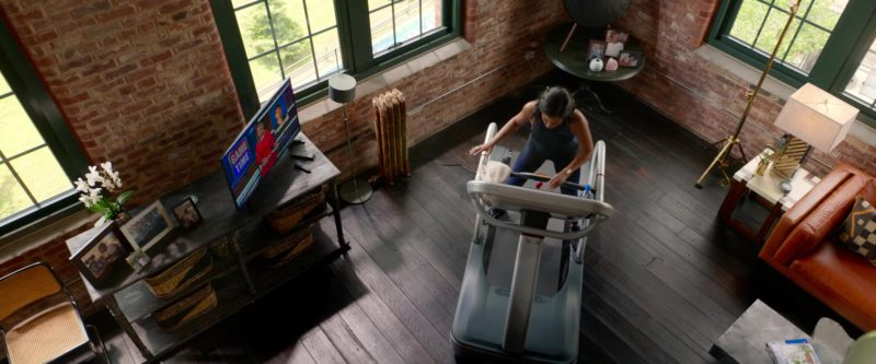 Star Trac Treadmill Used by Taraji P. Henson in What Men Want (2019) - Movie Product Placement