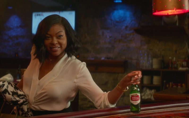 Stella Artois Beer Bottle Drunk by Taraji P. Henson (1)