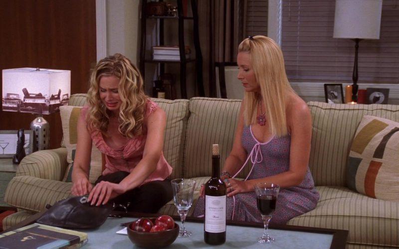 Sterling Vineyards Wine in Friends Season 10 Episode 2 (1)