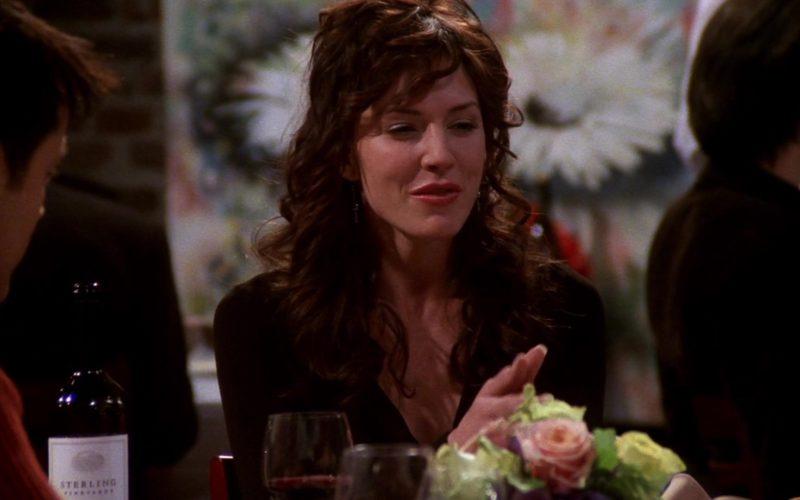 Sterling Vineyards Wine in Friends Season 8 Episode 12