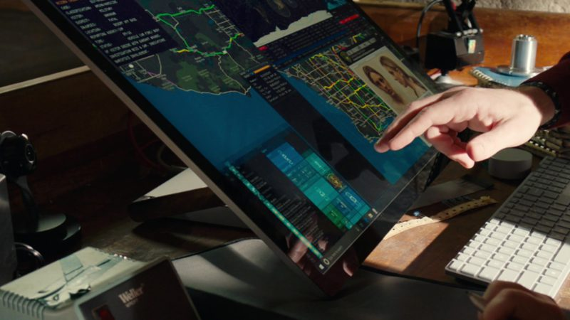 Surface Studio Computer by Microsoft in NCIS: Los Angeles - Season 10, Episode 21, The One That Got Away (2019) TV Show Product Placement