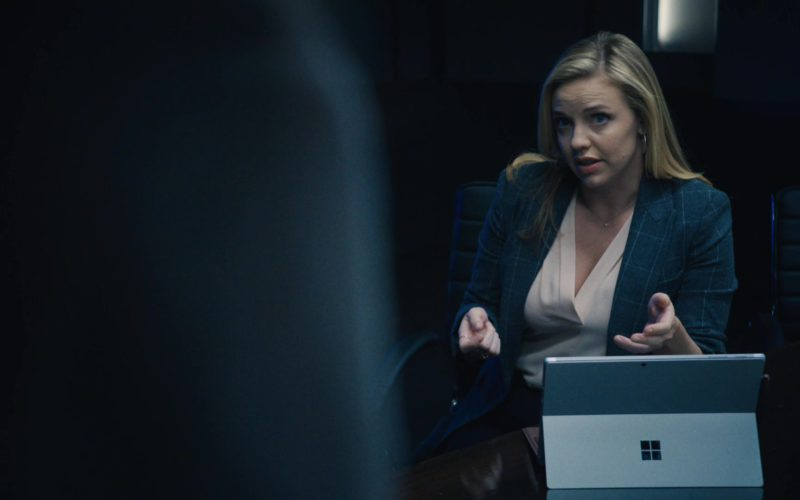 Surface Tablet by Microsoft Used by Kelli Garner in The Enemy Within (1)