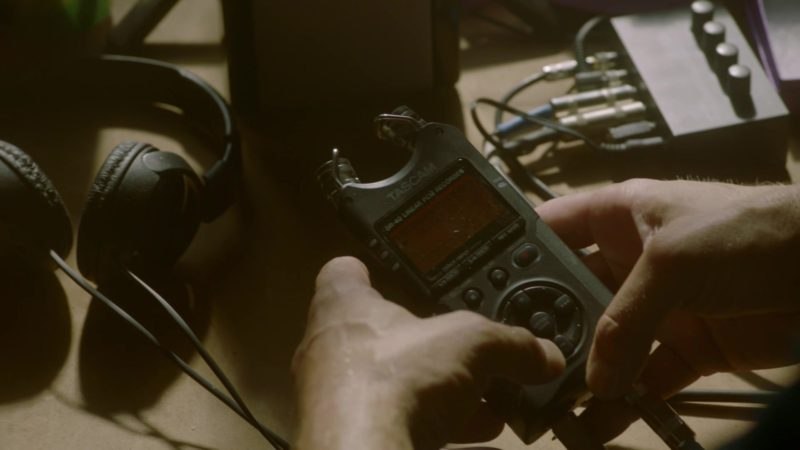 Tascam Portable Digital Recorder in The Fix - Season 1, Episode 7, Ghost Whisperer (2019) - TV Show Product Placement