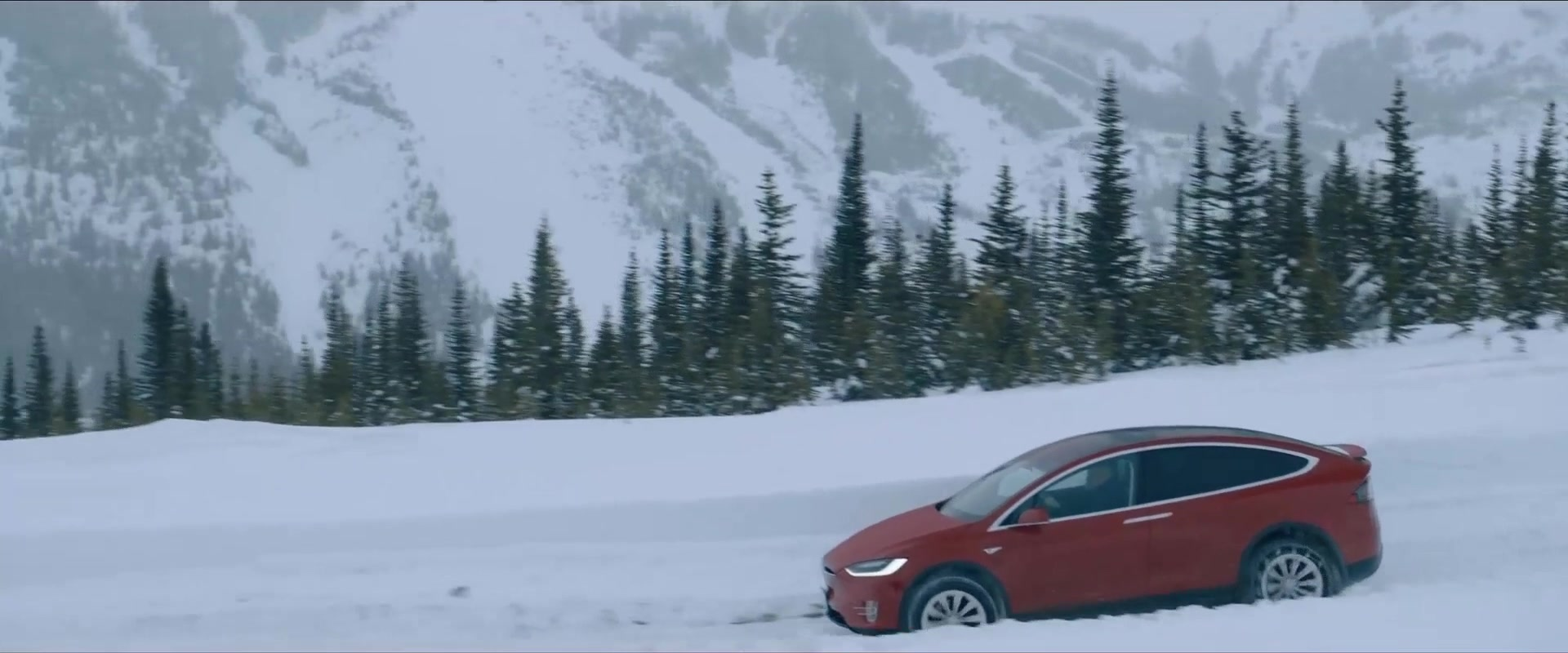 Used 2015 Tahoe >> Tesla Model X Red SUV in Cold Pursuit (2019) Movie