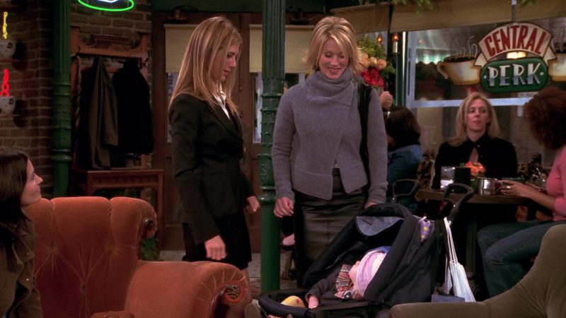 "Teutonia Baby Strollers in Friends Season 10 Episode 5 ""The One Where Rachel's Sister Baby-Sits"" (2003) - TV Show Product Placement"