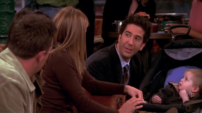"""Teutonia Baby Strollers in Friends Season 10 Episode 5 """"The One Where Rachel's Sister Baby-Sits"""" (2003) TV Show Product Placement"""