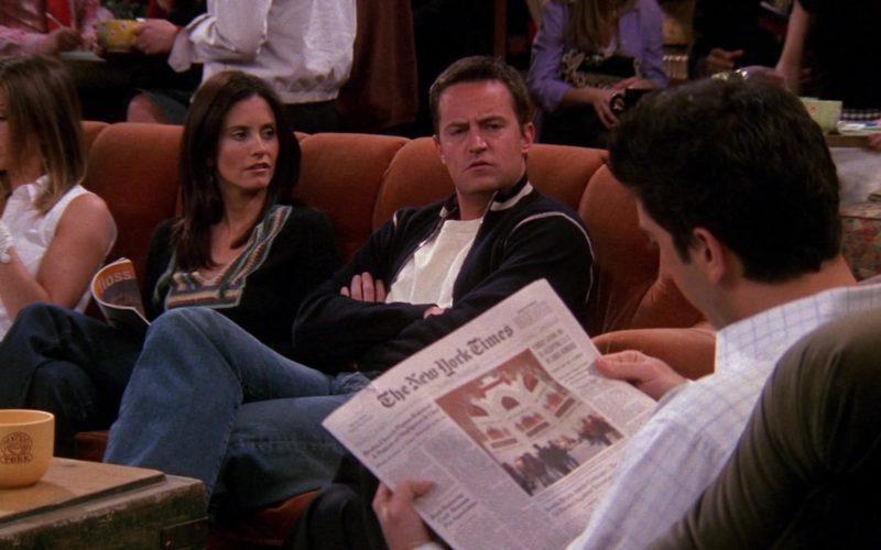 The New York Times Newspaper Held by David Schwimmer (Ross Geller) in Friends