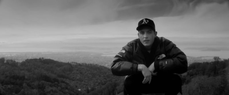The North Face Jacket  Worn by G-Eazy in West Coast (2019) Official Music Video Product Placement