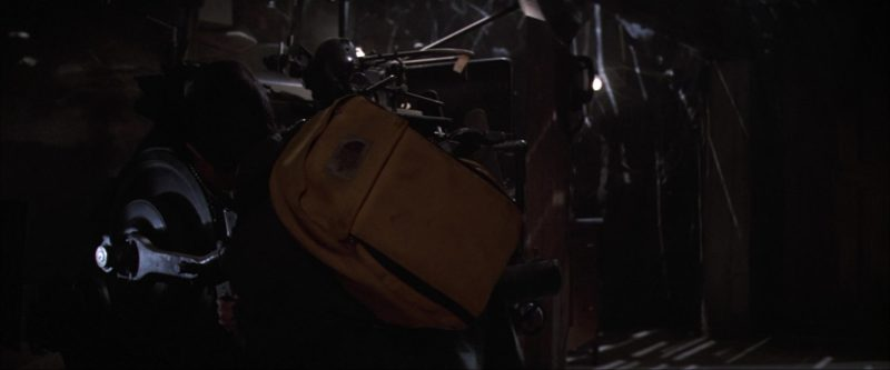 The North Face Yellow Backpack Used by Jonathan Ke Quan in The Goonies (1985) Movie Product Placement