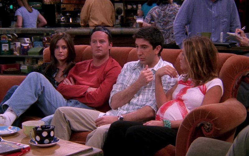 Tommy Hilfiger Socks Worn by Matthew Perry (Chandler Bing) in Friends Season 8 Episode 19